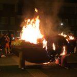 Knoerisverbranding luidt einde Carnaval in