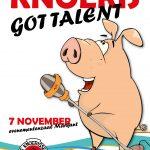 Nieuw evenement Knoeris got talent afgelast!