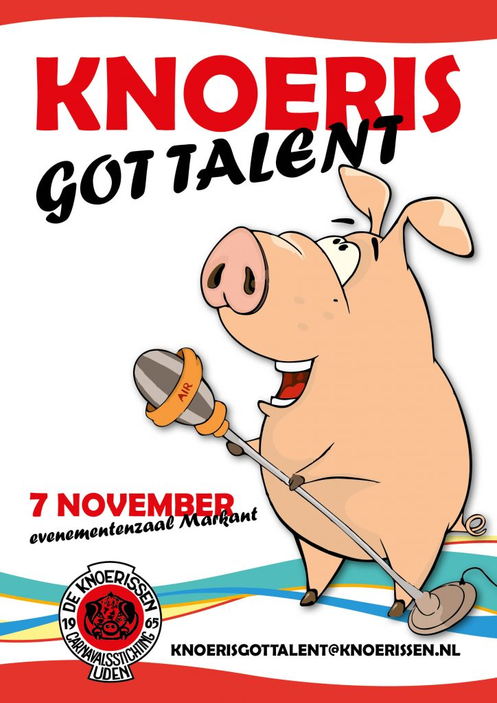 Poster Knoeris got talent!