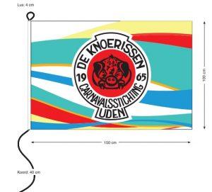 CS de Knoerissen vlag