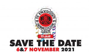 Save the Date 55 jaar Knoerissen